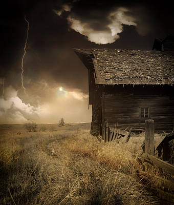 Prairie Storm Poster by Pixabay