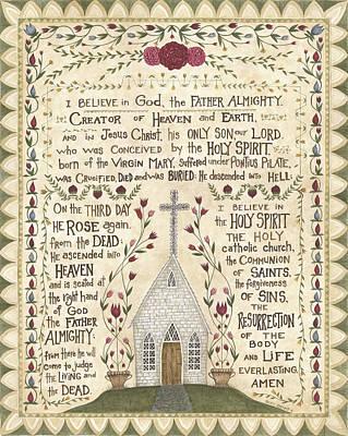 Prayer Poster by Cindy Shamp