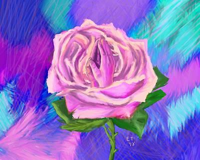 Prayer Rose  Poster