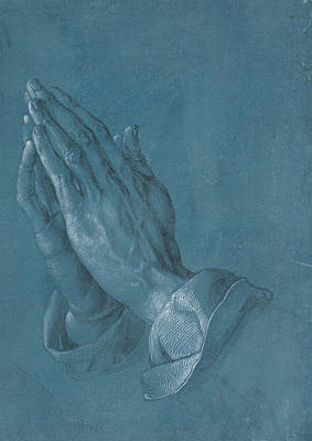 Praying Hands 1508 Poster by Philip Ralley