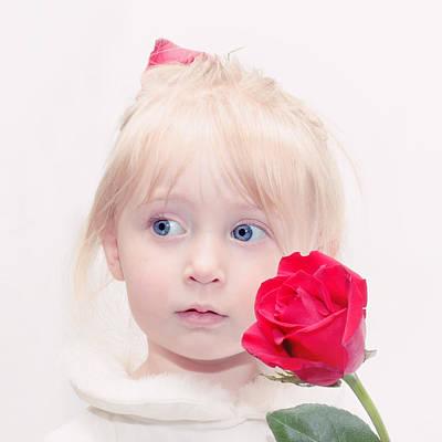 Precious Porcelain Princess Poster by Tracie Kaska