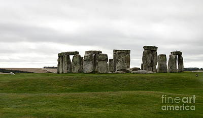 Prehistoric Monument - Stone Henge Poster by Christiane Schulze Art And Photography