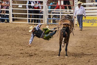 Prescott Rodeo 2014  Poster by Jon Berghoff