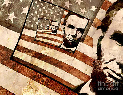 President Abraham Lincoln Poster by Phil Perkins
