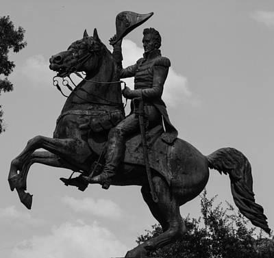 President Andrew Jackson Statue Poster by Robert Hebert