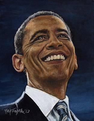 President Barack Obama Poster by Neil Feigeles