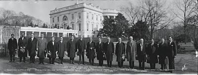 President Coolidge White House Poster
