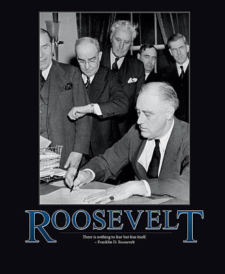President Franklin D. Roosevelt Poster by Retro Images Archive