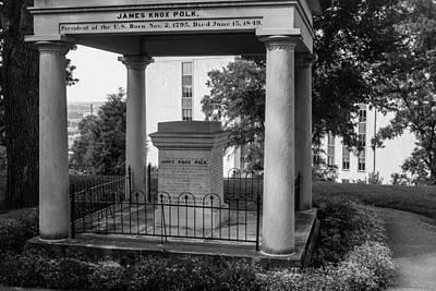 President James K Polk Tomb Poster by Robert Hebert