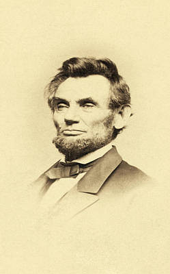 President Lincoln Poster by Bill Cannon