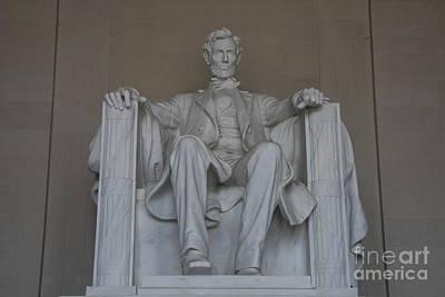 President Lincoln Statue - Washington Dc Poster