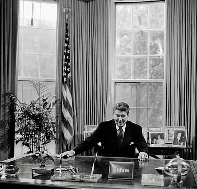 President Ronald Reagan Poster