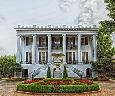 President's Mansion - University Of Alabama Poster