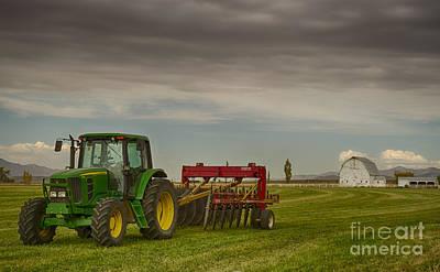 Preston Farm Poster by Idaho Scenic Images Linda Lantzy