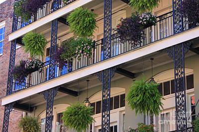 Pretty Balcony Poster by Carol Groenen