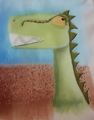 Dinoart Raptor Poster by Joshua Maddison