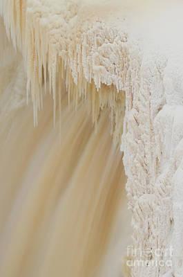 Pretty Alexandra Falls Poster by Lisa Killins