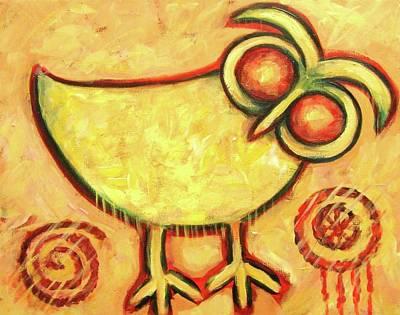 Primitive Owl Poster