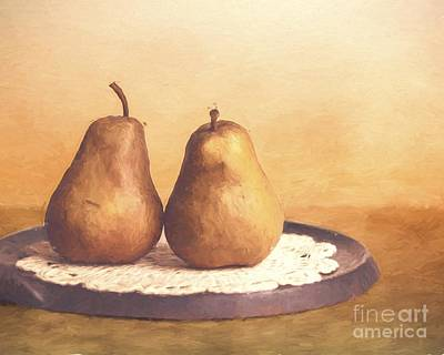 Primitive Pears  Poster