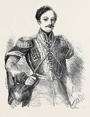 Prince Bebutoff, The New Russian Commander-in-chief In Asia Poster by English School