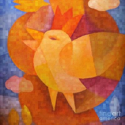 Prince Birdie Poster by Lutz Baar