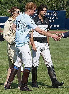 Prince Harry Handshake Poster