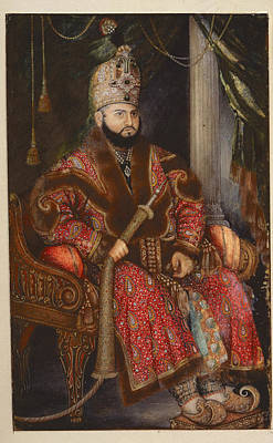 Prince Mirza Muhammad Salim Poster by British Library