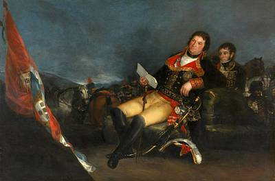 Prince Of The Peace Poster by Francisco Goya