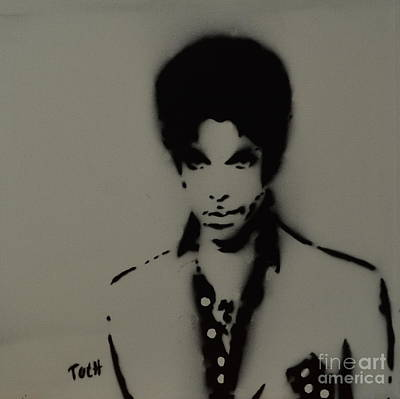 Prince Spray Art Poster