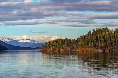 Prince William Sound Alaskan Landscape Poster