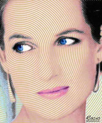 Princess Lady Diana Poster by Tony Rubino