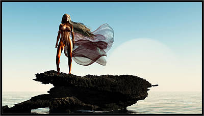Princess Of Mars... Poster by Tim Fillingim