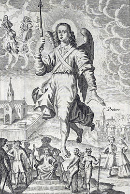 Principalities, Heavenly Messengers Poster by Folger Shakespeare Library