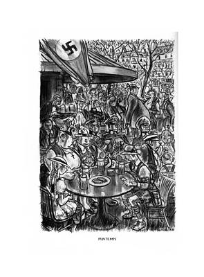 Printemps Poster by Wallace Morgan