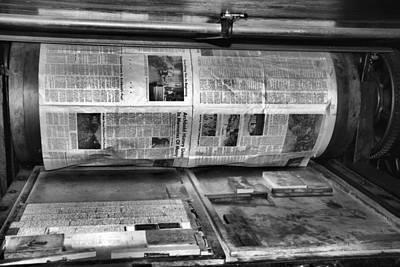 Printing Press Poster