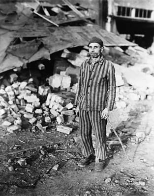 Prisoner In German Slave Labor Camp Poster by Everett