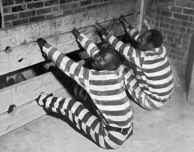Prisoners In Stocks Poster