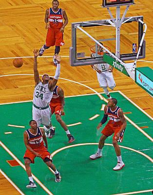 Pro Hoops 033 Poster by Jeff Stallard