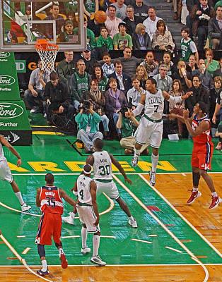 Pro Hoops 035 Poster by Jeff Stallard