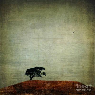 Progress Vs Forest Poster by Elena Nosyreva
