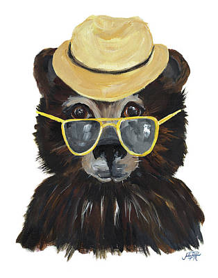 Proper Animals I Poster by Julie Derice