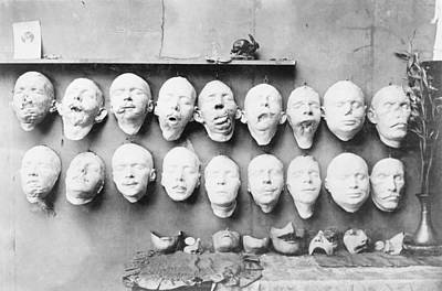 Prosthetic Masks Casts Poster by Library Of Congress