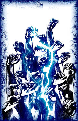 Protest The Power Poster by Frederico Borges