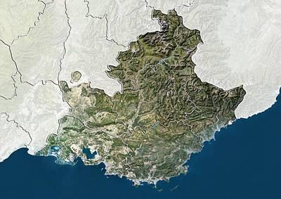Provence-alpes-cote D'azur, France Poster