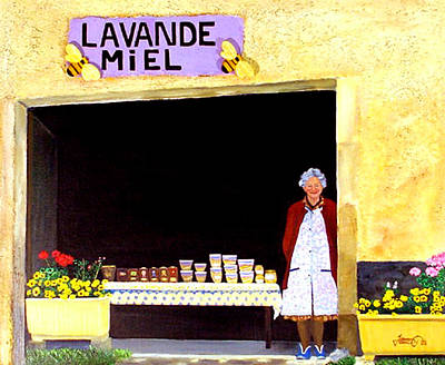 Provence Honey Shoppe Poster