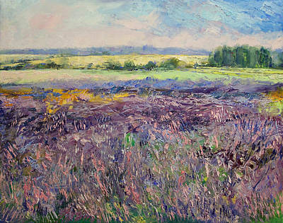 Provence Lavender Poster by Michael Creese