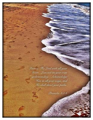 Proverbs 3 5 Poster