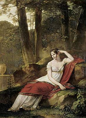 Prudhon, Pierre Paul 1758-1823. The Poster by Everett