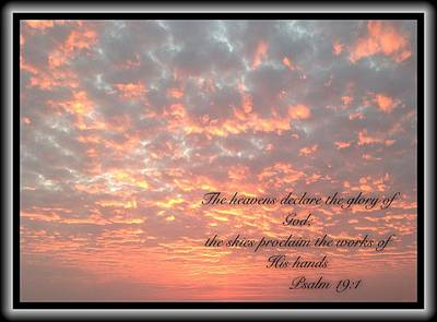 Psalm 19 11 Poster