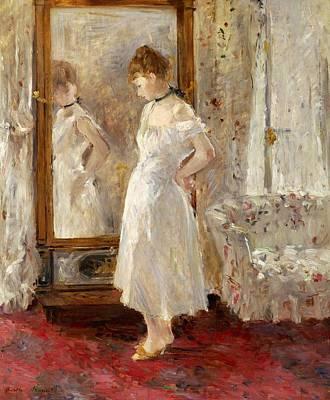 Psyche Poster by Berthe Morisot